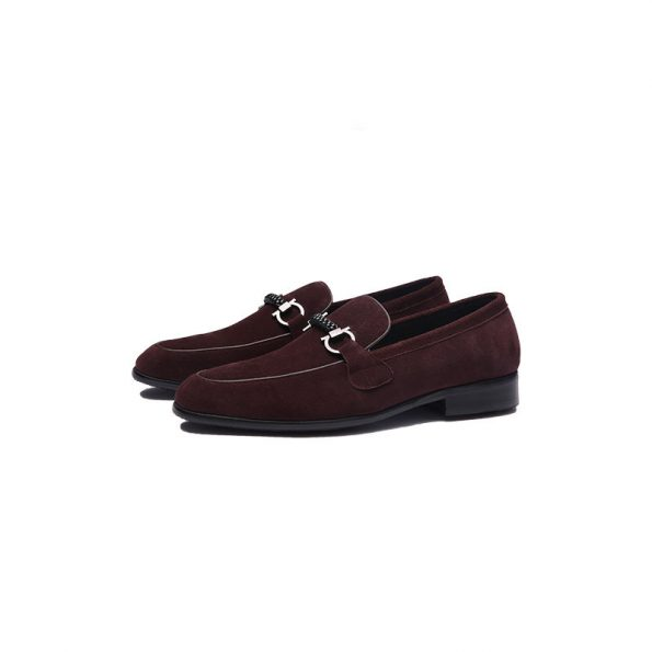 Aax-Fory-a-pedal-men's-shoes-fall-suede-loafers-leather-men's-business-casual-shoes-breathable