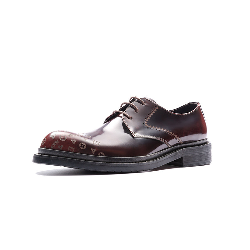 Aax-Fory-round-carved-lace-shoes-male-British-business-dress-shoes-patent-leather-Derby-shoes-tide-male-hairstylist